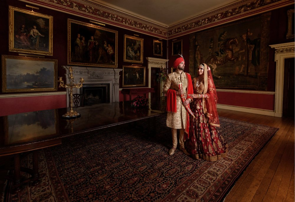 Best Indian Wedding Photographers at Hagley Hall Hindu Wedding Sikh and Dread Photography
