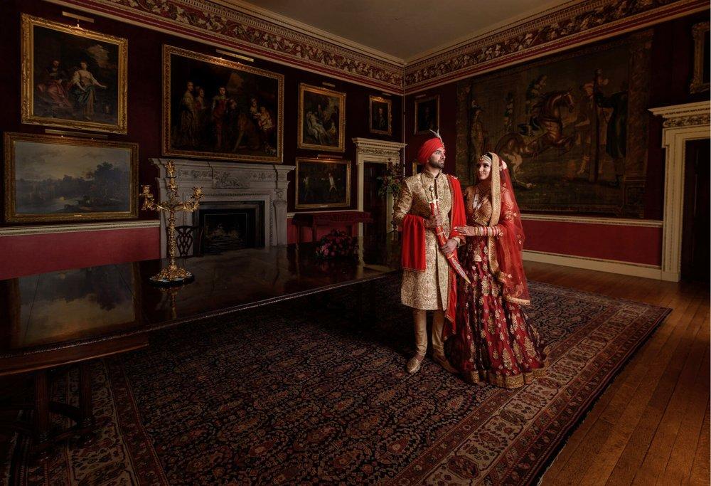 Best Indian Wedding Photographers at Hagley Hall Hindu Wedding