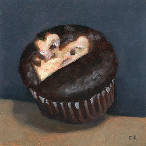 Black Bottom Cupcake