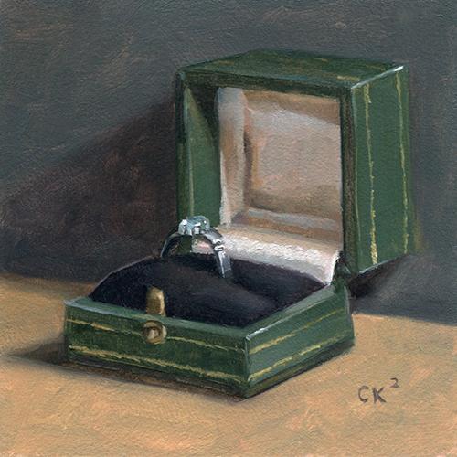 Kornacki WabiSabi Engagement Ring