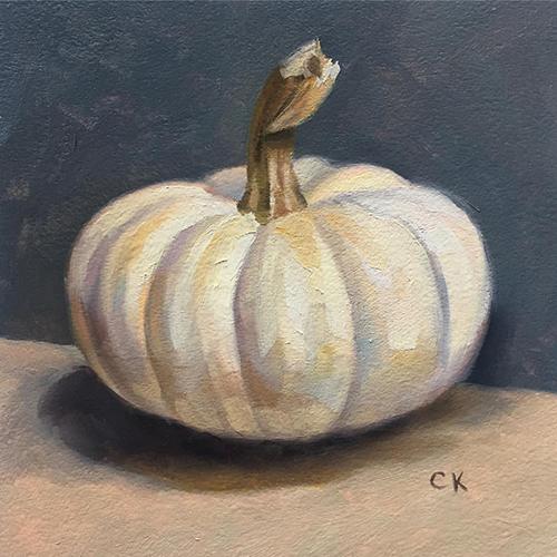 Kornacki Wabisabi White Pumpkin