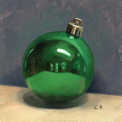 Kornacki Wabisabi Green Ornament