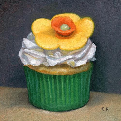 Kornacki Wabisabi Flower Cupcake