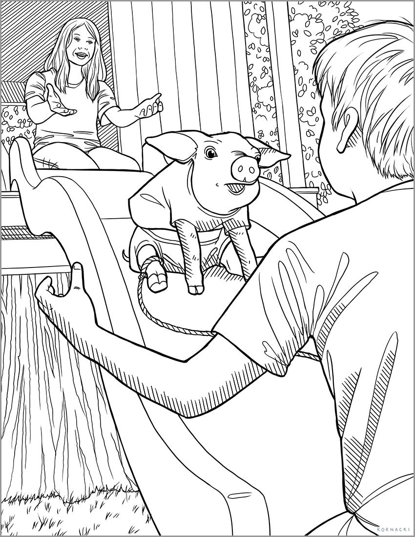 Little Wilber Piggy