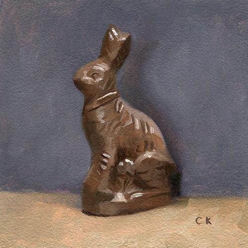 Kornacki WabiSabi Chocolate Bunny