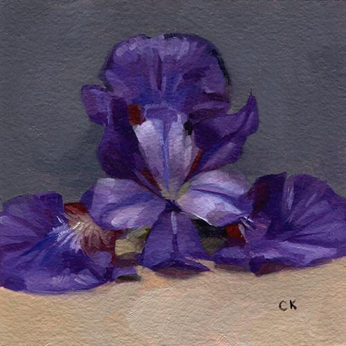 Kornacki WabiSabi Purple Iris