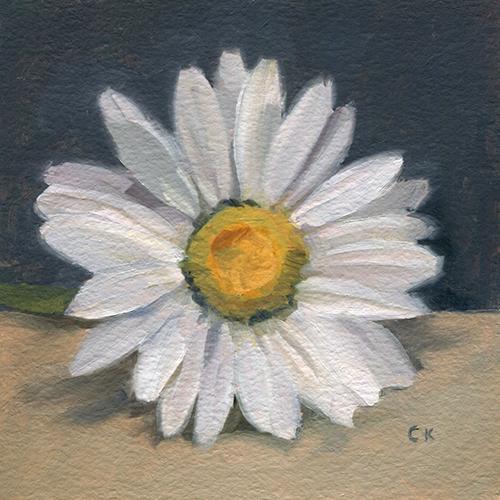 Kornacki WabiSabi White Daisy
