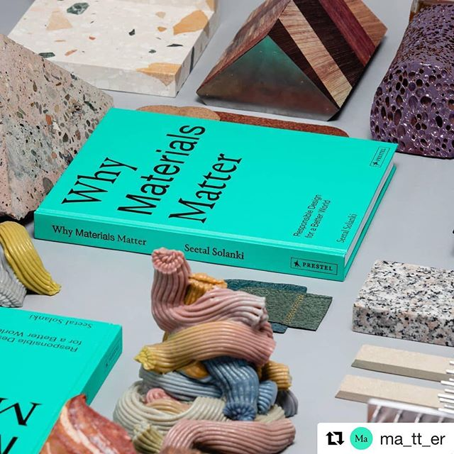 #Repost @ma_tt_er  The exhibition and book launch 'Why Materials Matter' is alive and kicking, published by @prestel_uk @prestel_usa  Celebrating all things material; we've commissioned  a number of designers and artists that are featured within the book to make one-of-a-kind bookends (some of which you'll see here). Each piece will be on sale throughout the festival along with our book.  Designers and artists taking part are: @bassestittgen @billievankatwijk @fernandolaposse @granbyworkshop @jamesmshaw @jorgepenades @lupine_project @about.malai @marlenehuissoud #MaxLamb @dzekdzekdzek @studiorawmaterial @studiosannevisser @studiofurthermore @tessasilva @theodoraalfreds @tinoseubert @wangsoderstrom  Photography by @dilesh_solanki  Exhibition venue and launch is Yeoman's Row, London, SW3 2AL