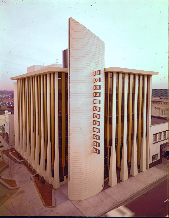 Home Savings and Loan Building in 1969, Courtesy Herald-Sun