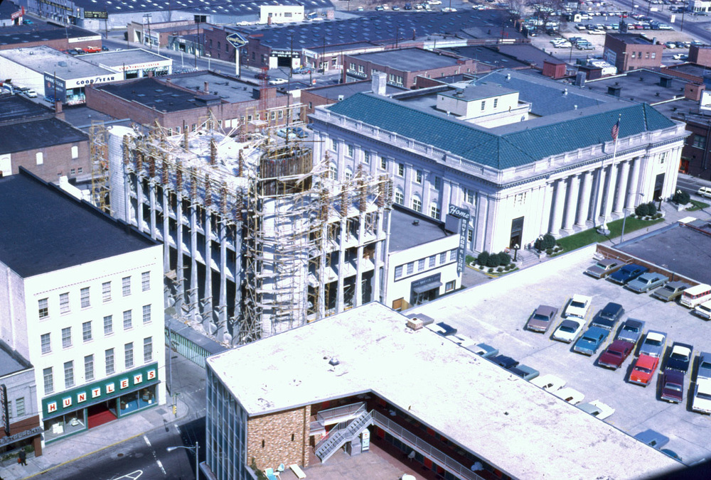 Home Savings and Loan Building in 1968