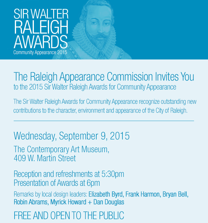 Sir Walter Raleigh Award