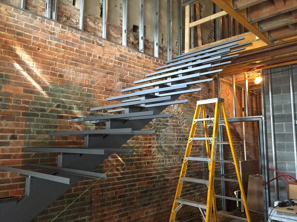 Monumental Stair In Wilmington Maurer Architecture