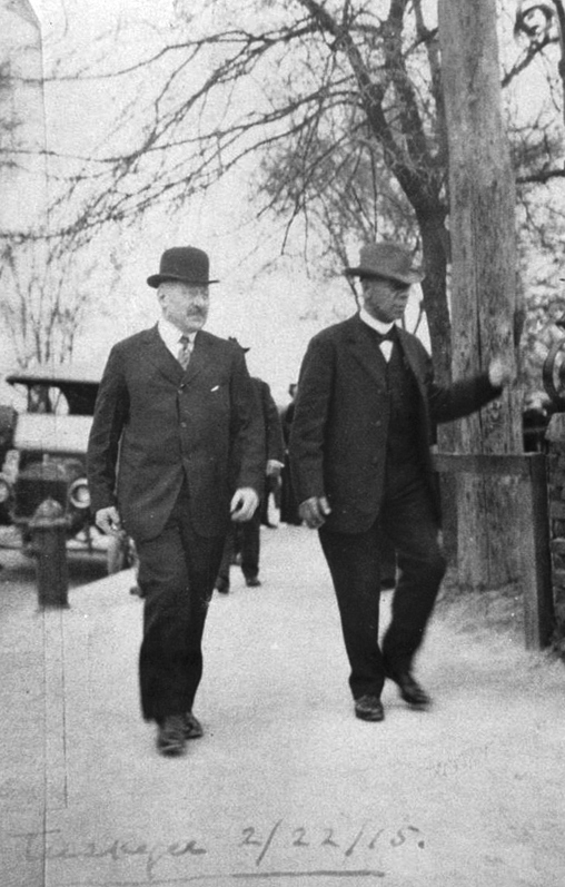 Julius Rosenwald and Booker T. Washington
