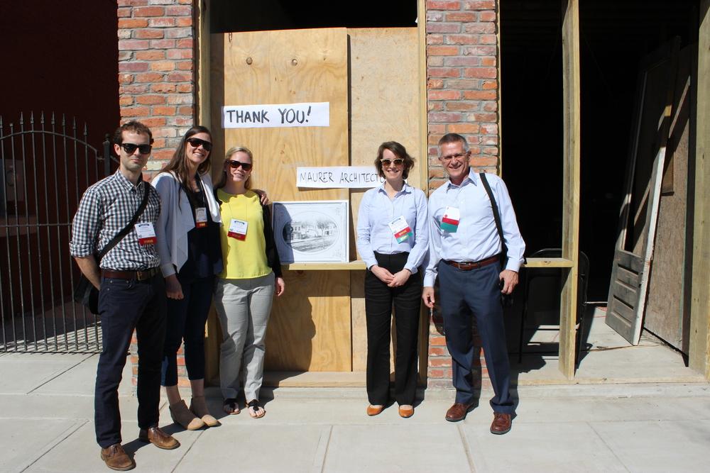 The Maurer Architecture team on Center Street