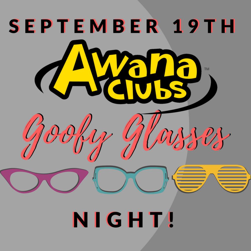 2018 AWANA Goofy Glasses Night Main.png