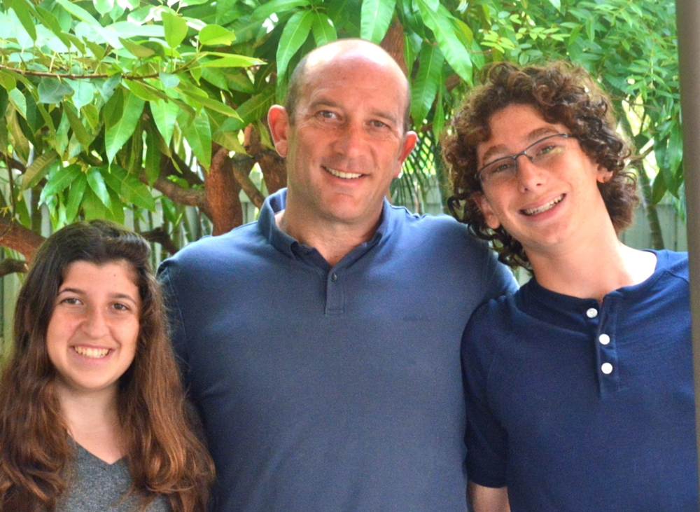 Above: Co-founders Arielle Schaechter, Roberto Schaechter and Jonah Schaechter