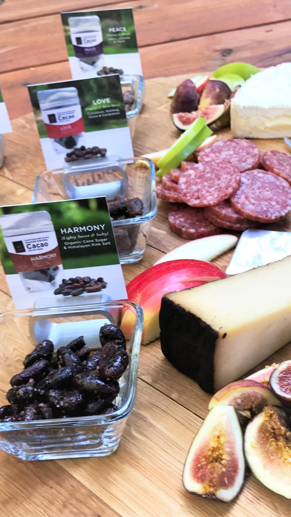 good-king-gourmet-snacking-cacao-cheese-charcuterie-plate-cocoa-snacks