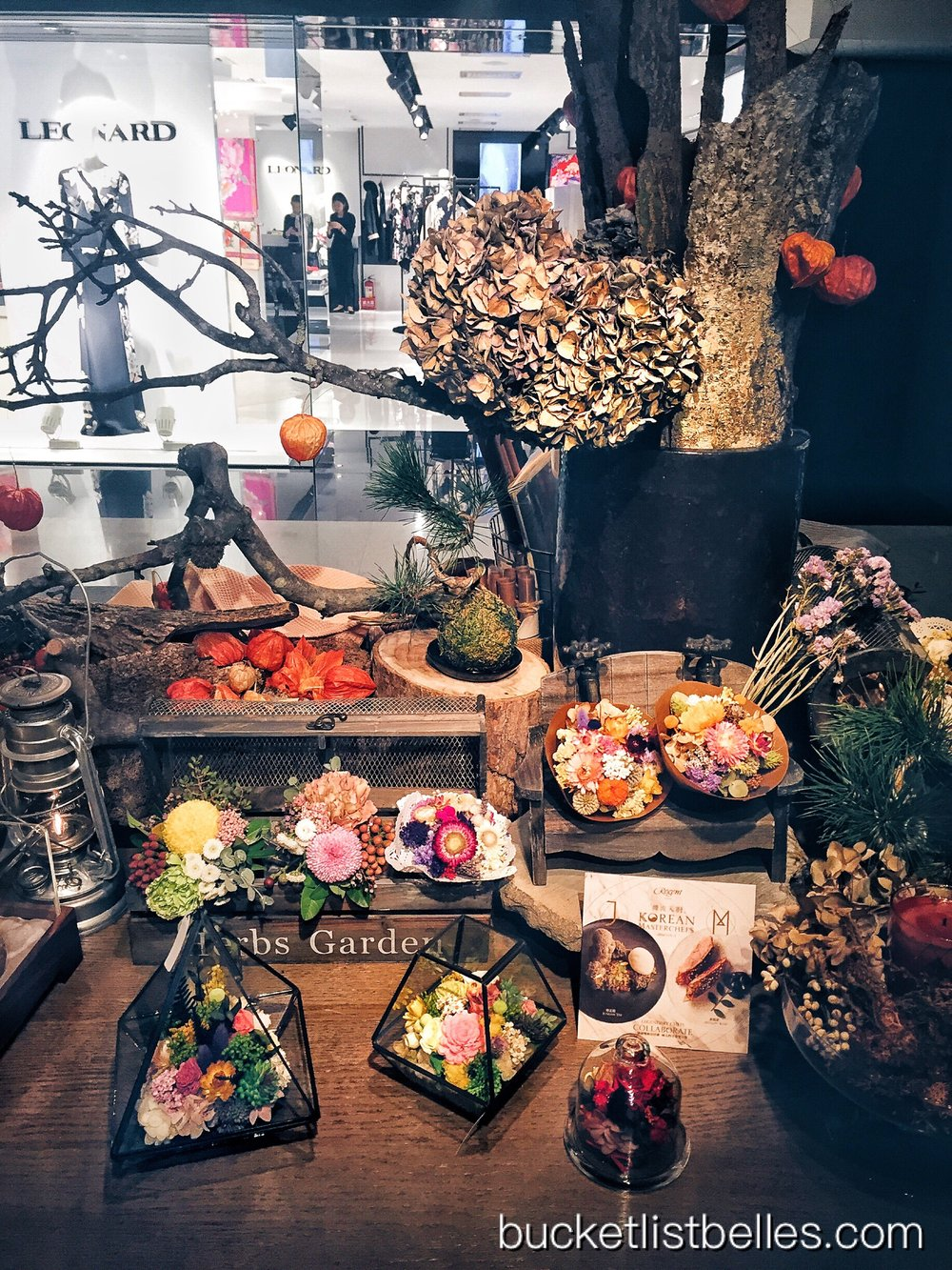 The Secret Garden offers floral arrangements curated by in-house Regent floral team for purchase