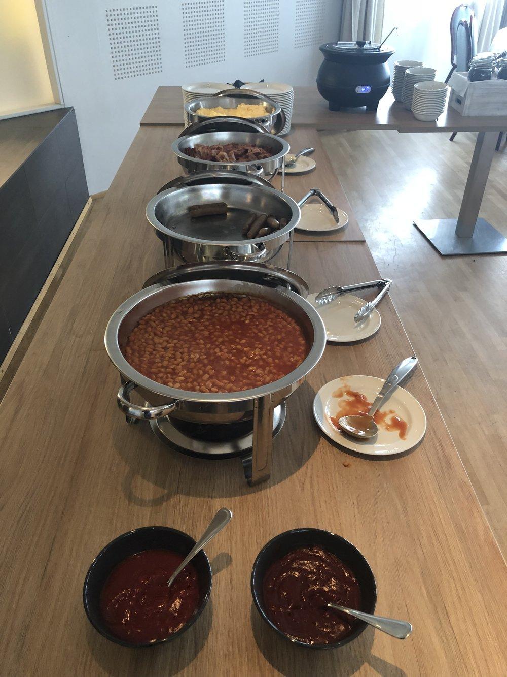 Beans, Susage, Eggs