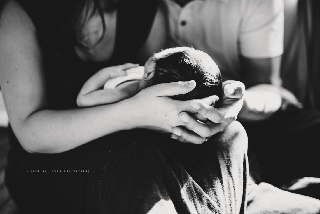 Yasmina Cowan Photography | DC and Baltimore Lifestyle Newborn Photographer
