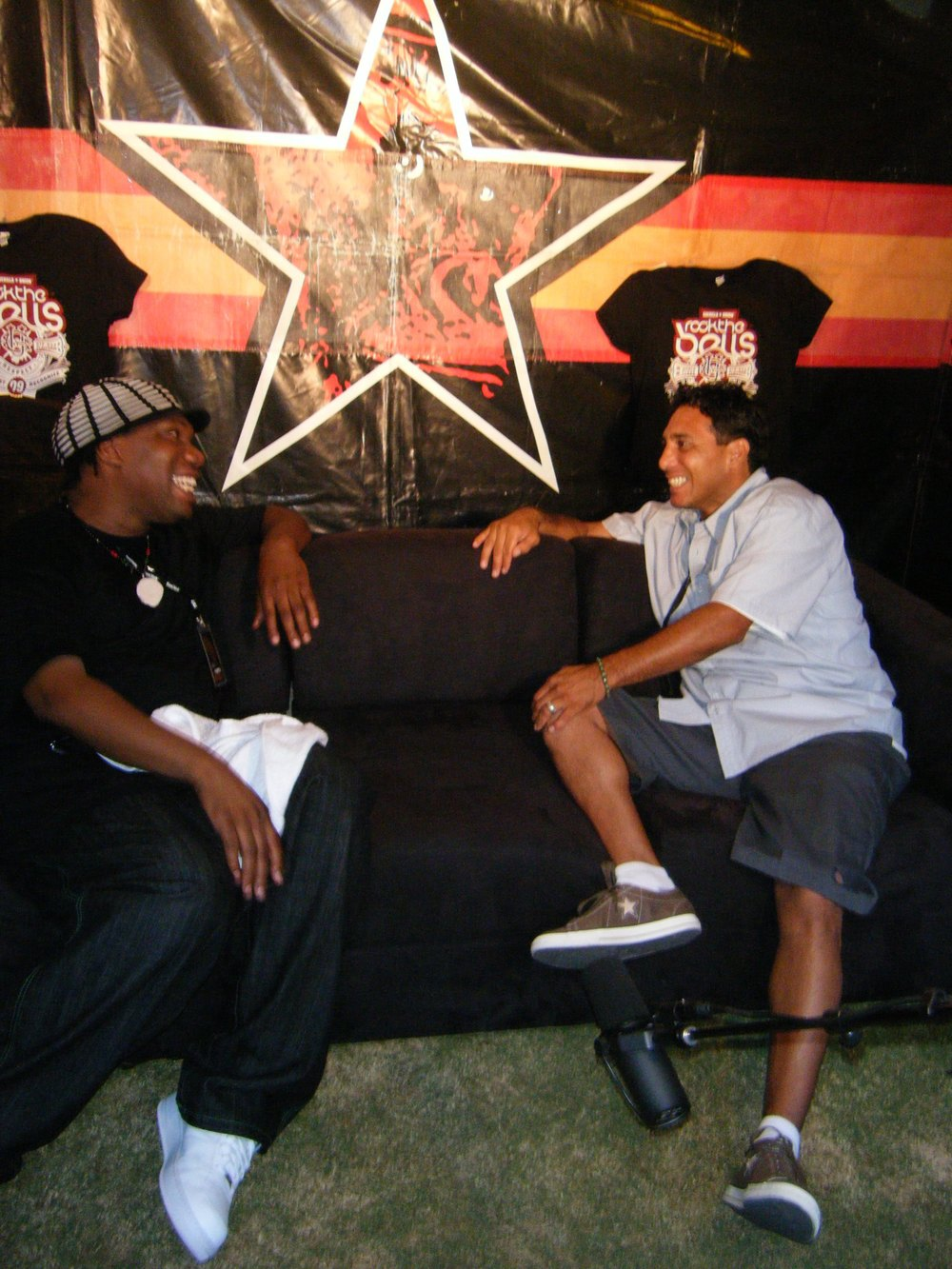 KRS-One with Fidel - MKTV @ Rock The Bells