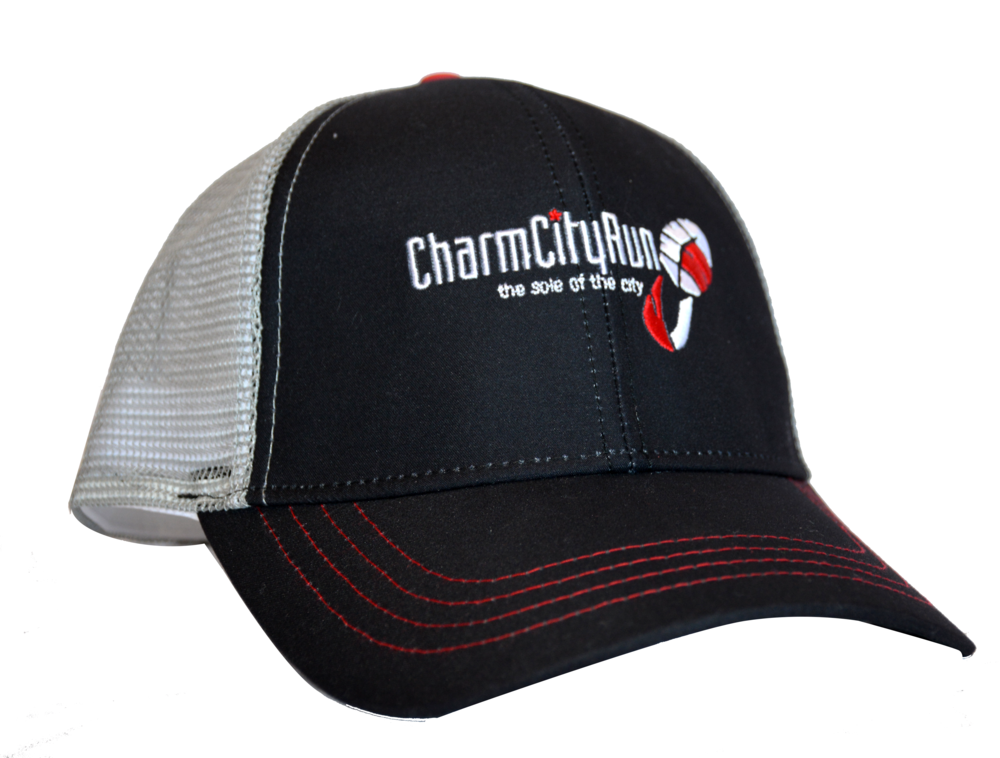 CHARM CITY RUN TRUCKER HAT Shop Now >