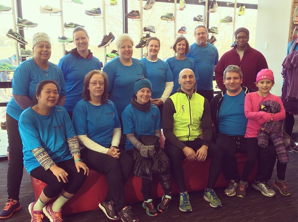 Our Run Happy Revolution 5K Group in Columbia (Melissa is training in Timonium). There's still time to join!