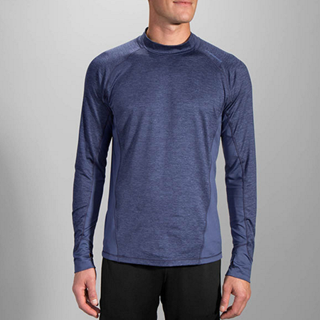Men's Premium (Brooks Dash Long Sleeve in Blue)