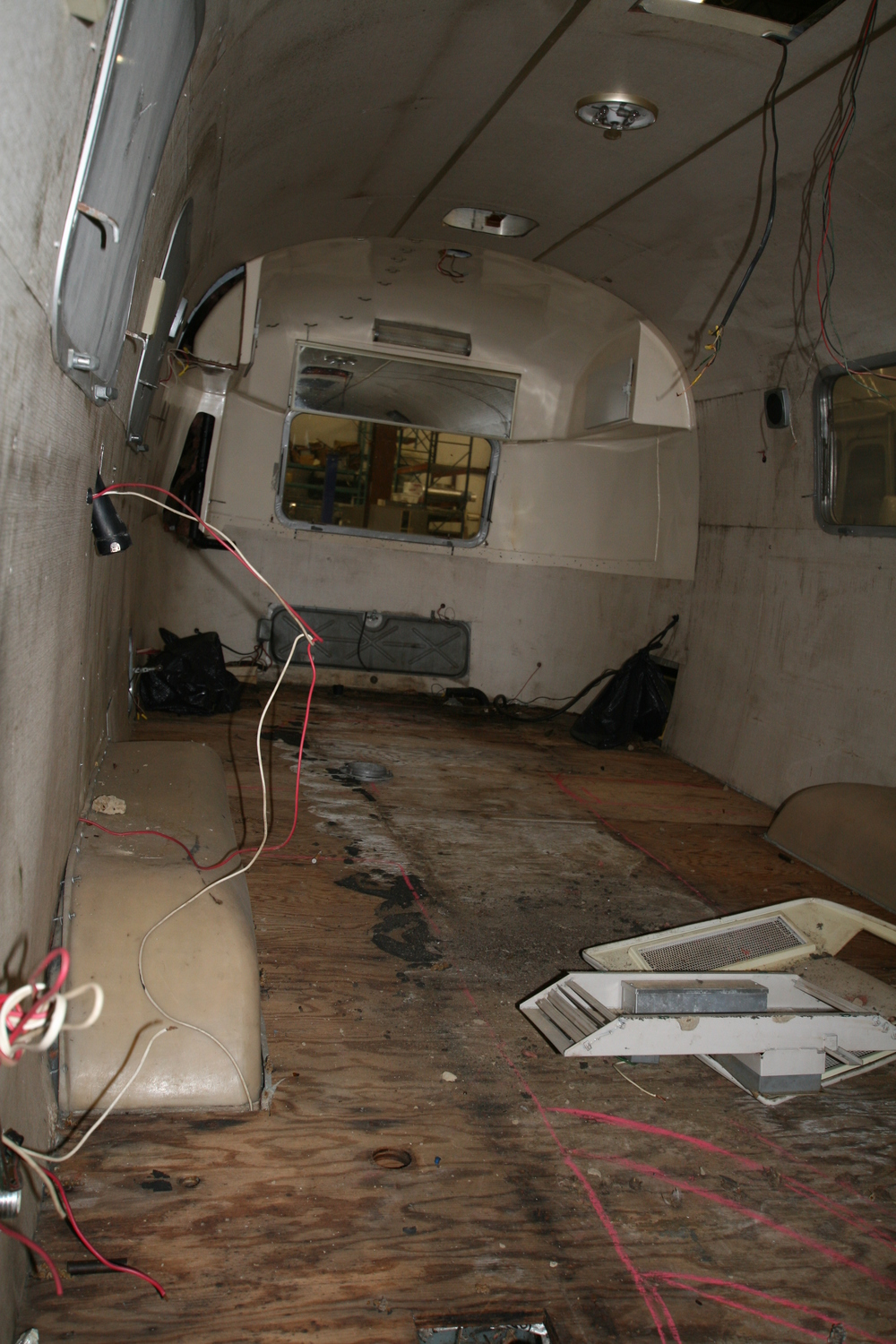 This Airstream showed up in pretty rough shape. The trick was turning it's weakenesses into strengths.