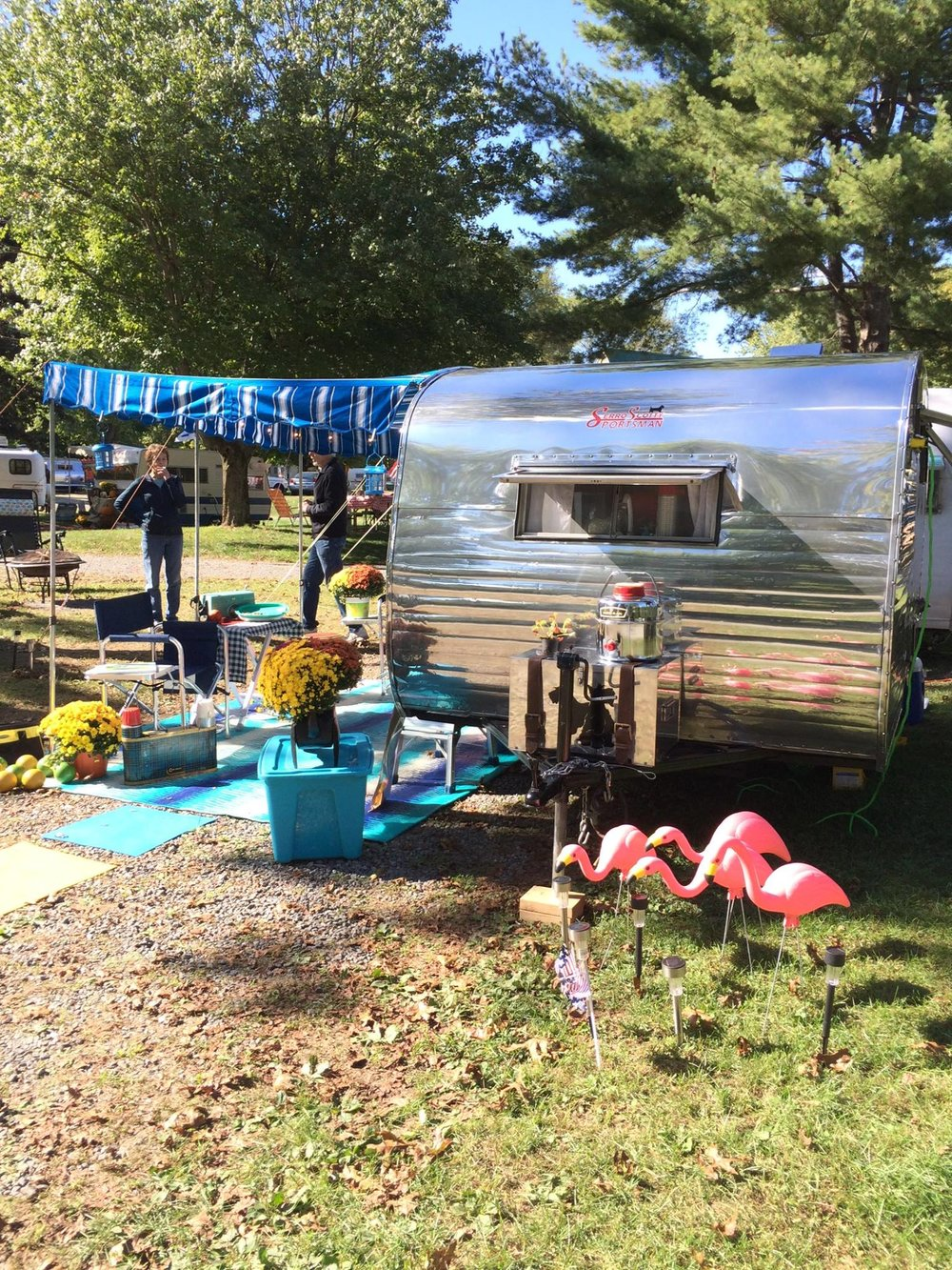 After [By the client] Brattleboro KOA Vintage Rally, Fall