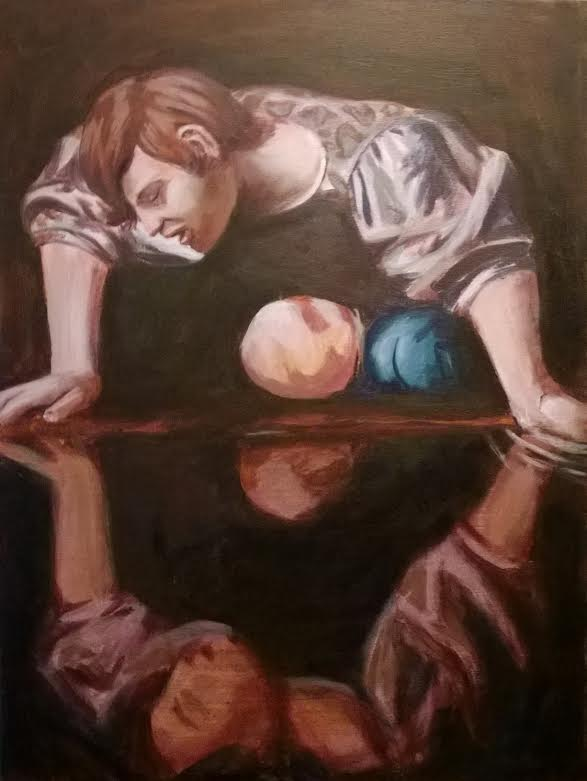 My Caravaggio Final Painting