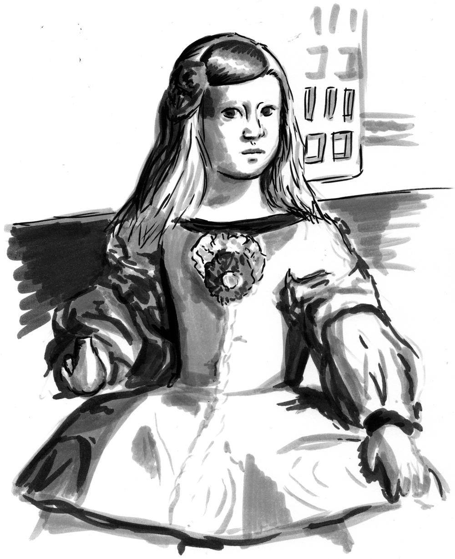 Day 18  -Las Meninas (1656) Diego Valazquez (1599 - 1656)