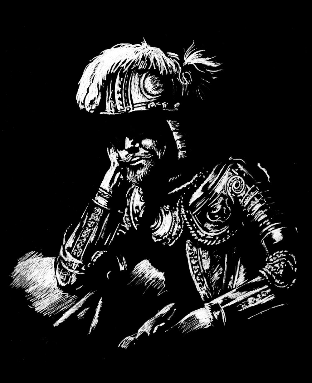Day 28  -Mars Asleep (1629) Hendrick ter Brugghen (1588 - 1629)