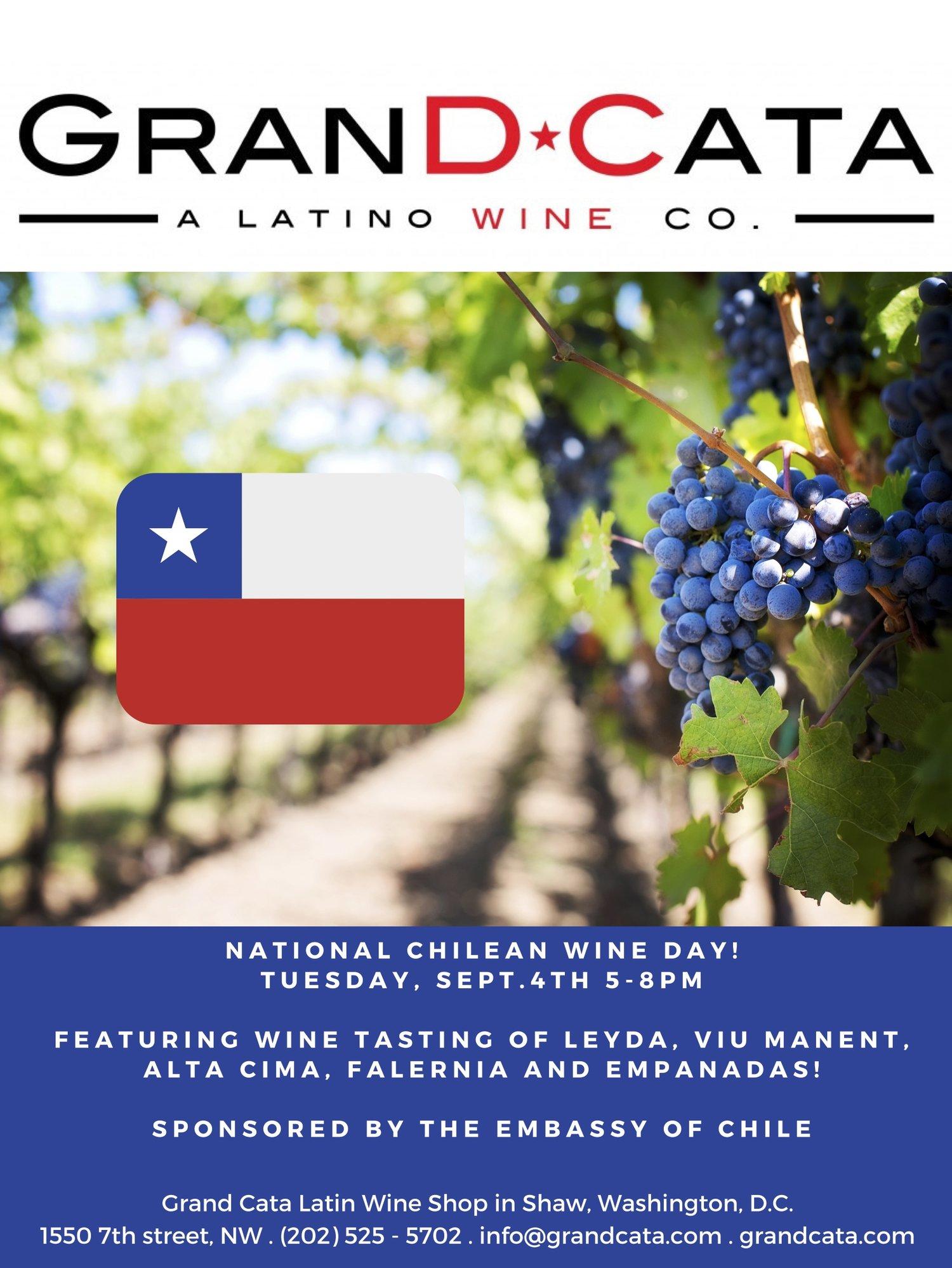 National Chilean Wine Day! — Grand Cata