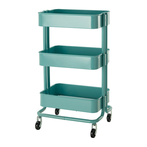 Holiday Gift Guide // For the Crafty: Ikea Raskog Utility Cart - Right at Home Shop
