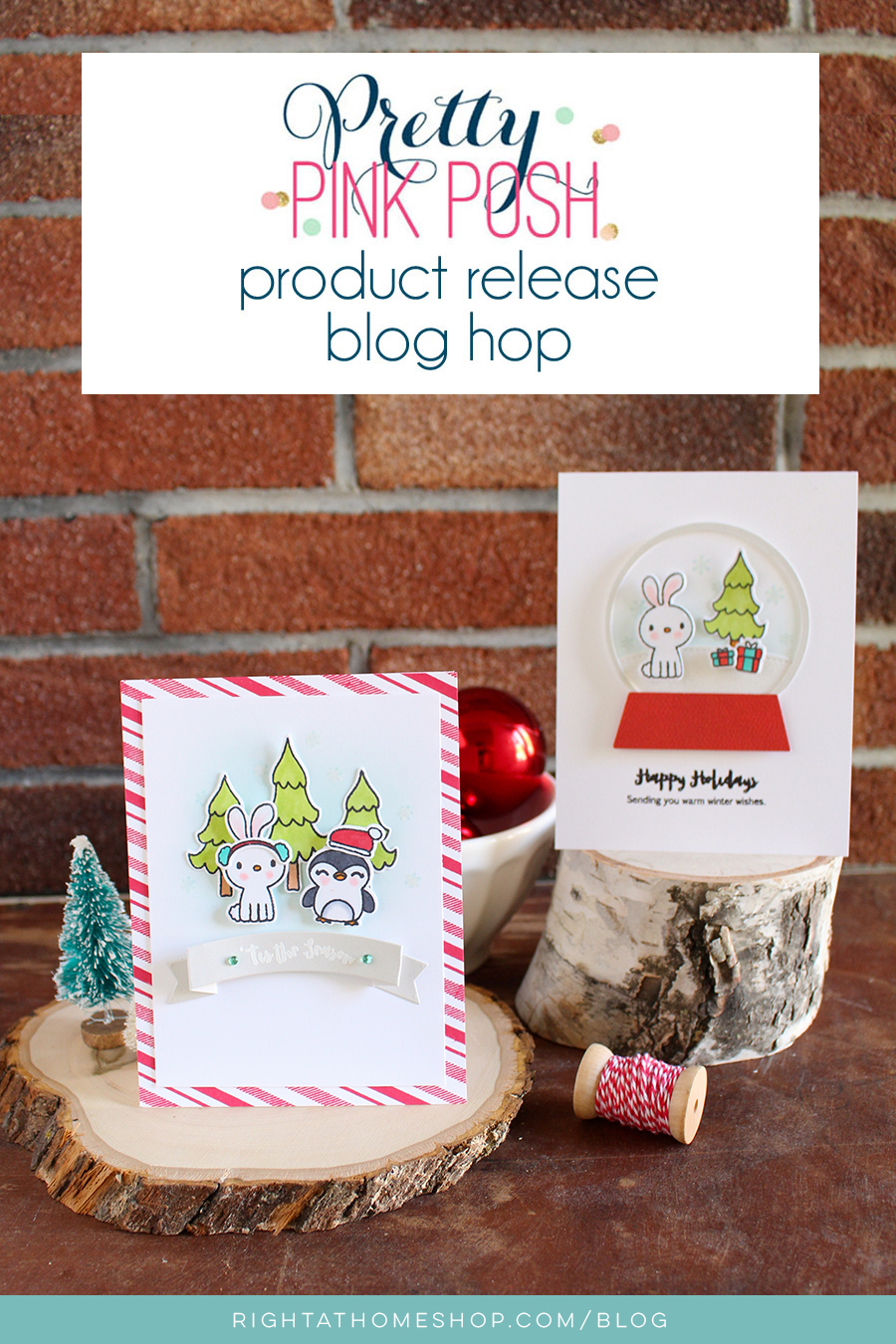 Pretty Pink Posh November Product Release Blog Hop // Nicole Baez from Right at Home Shop