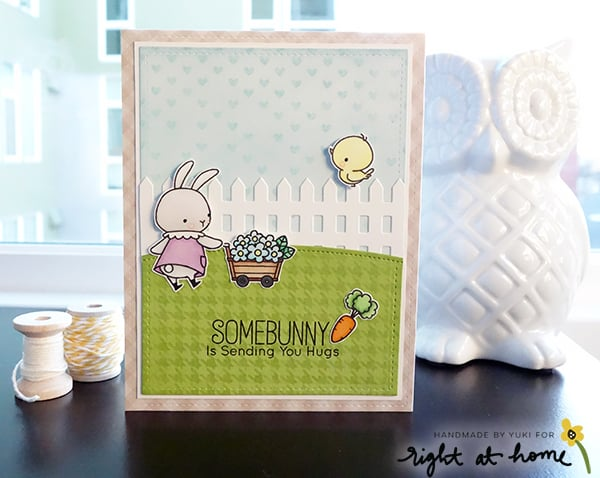 Friendship Card by Yuki // Right at Home Design Team - Right at Home Shop