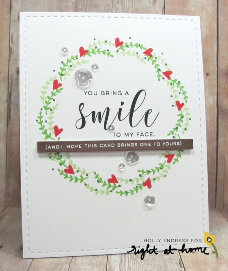 You Bring a Smile to my Face by Holly // Right at Home Design Team ...