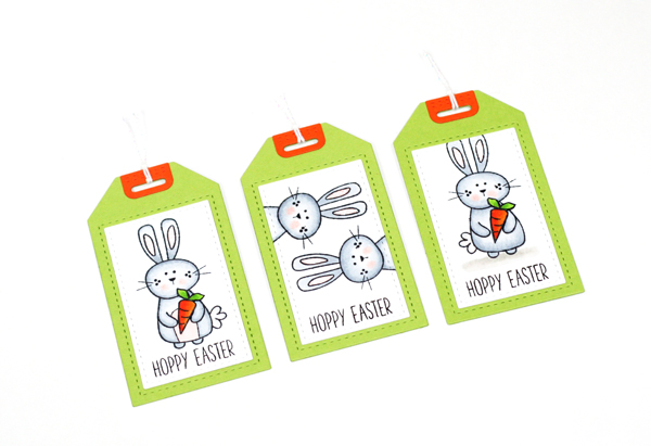 DIY Carrot Treat Bags + Gift Tag by Stephanie // Homemade with Love Day #5 - rightathomeshop.com/blog