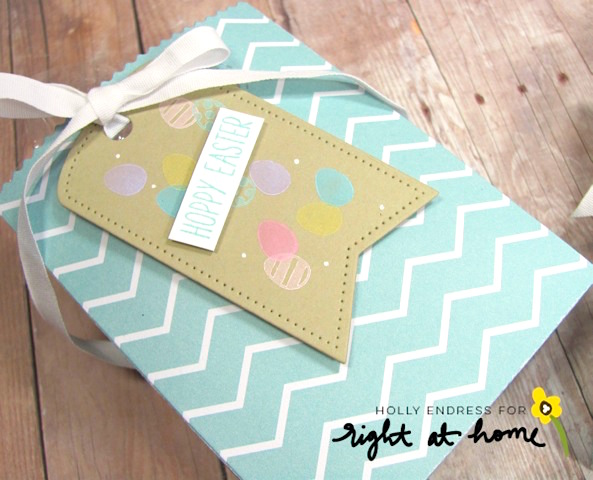 DIY Gift Bags + Tags with Holly // Homemade with Love Day #4 - rightathomeshop.com/blog