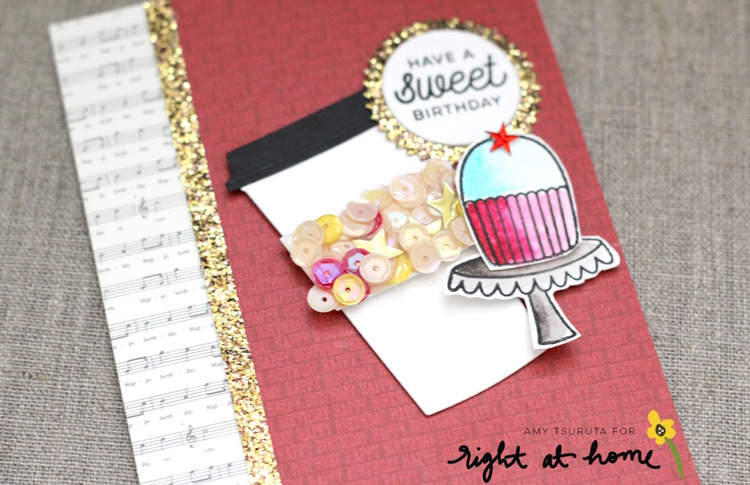 Have A Sweet Birthday Card By Amy T May Stamped Sealed Craft