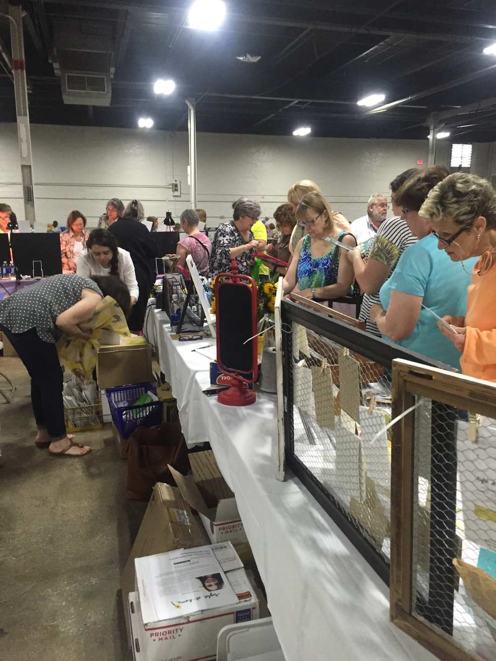 My First Vendor Show // Heirloom Productions Stamp Show 2016 - rightathomeshop.com/blog