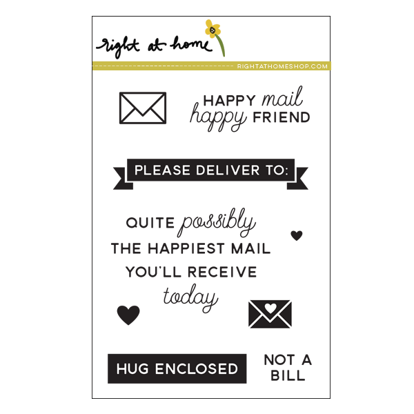 Right at Home Stamps // Happy Mail Year 2