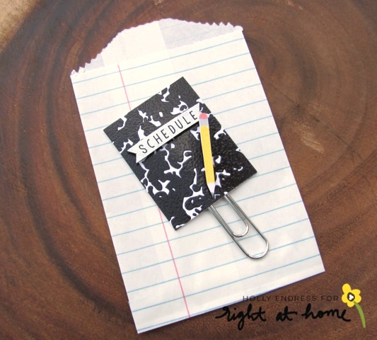 DIY Planner Tabs + Paperclips // Back to School with Right at Home - rightathomeshop.com/blog