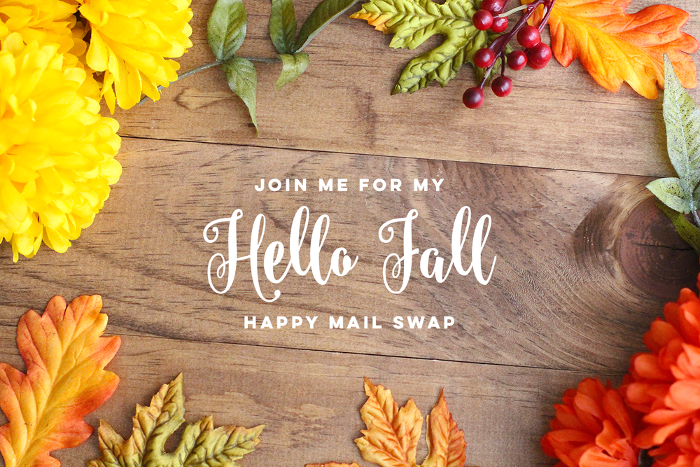 Hello Fall Happy Mail Swap Details + Sneak Peek by Amy K // rightathomeshop.com/blog