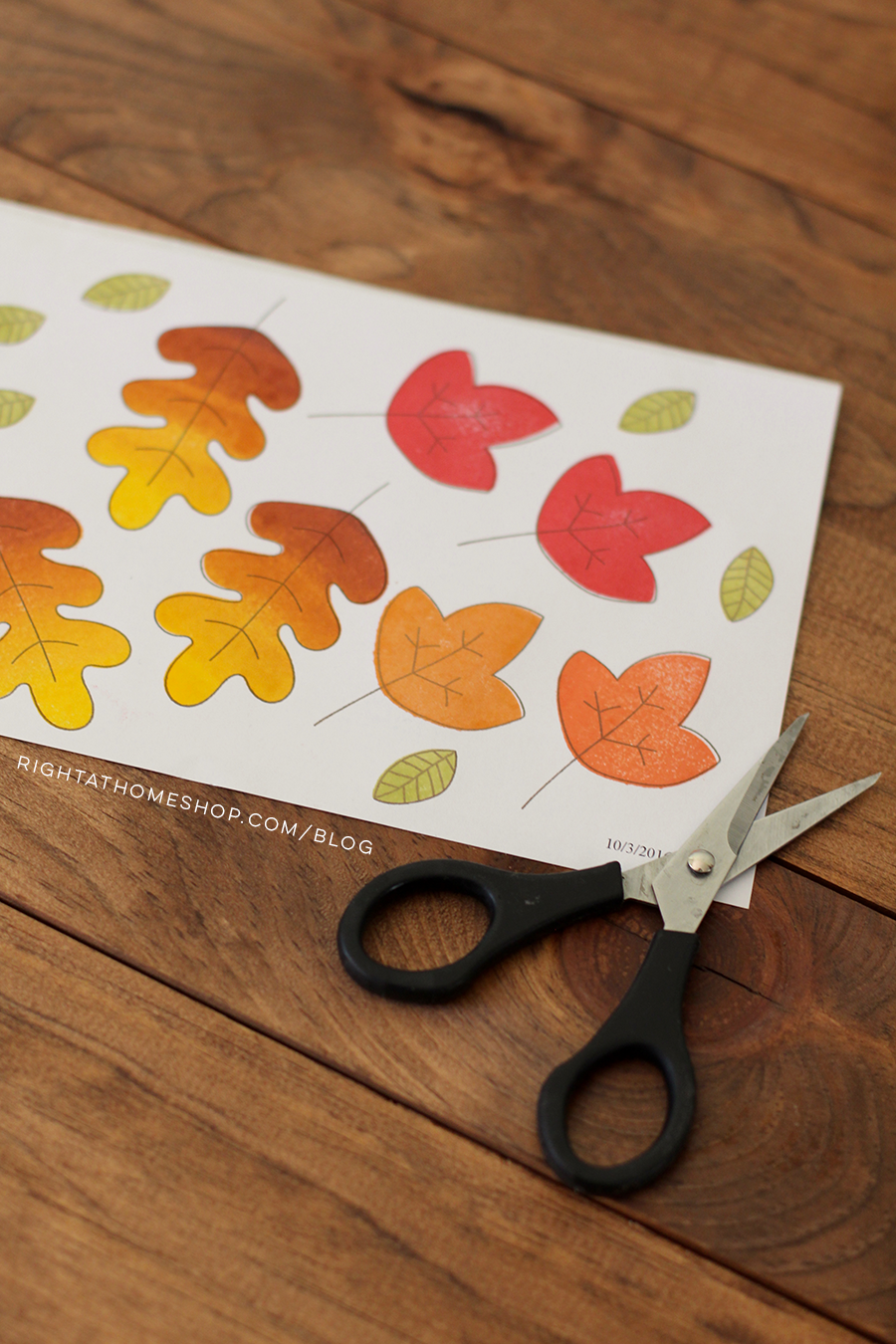 Hello Fall Happy Mail Swap Packaging Ideas by Nicole // rightathomeshop.com/blog