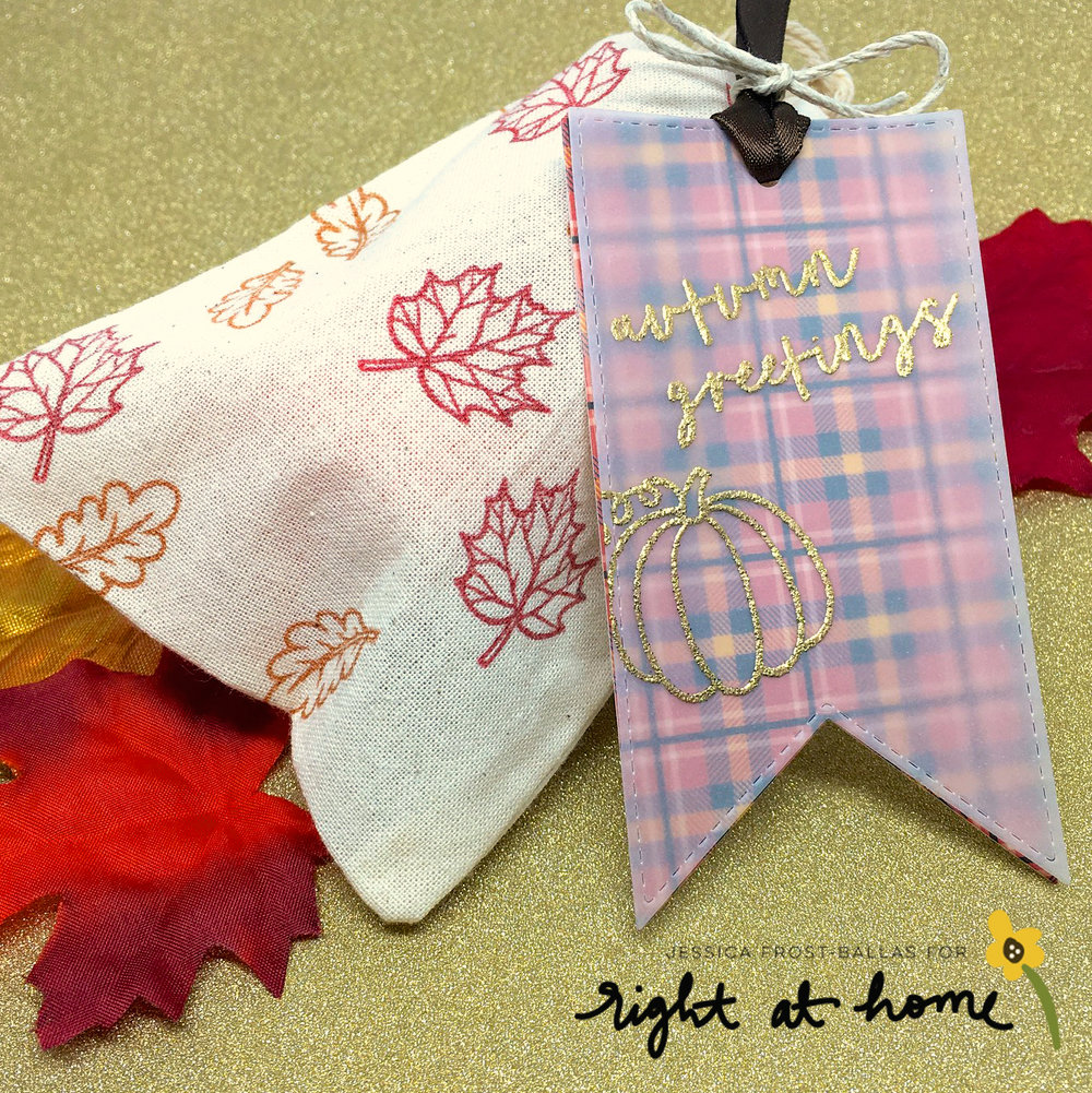 Hello Fall Happy Mail Swap Packaging Ideas & Tips by Jessica // rightathomeshop.com/blog