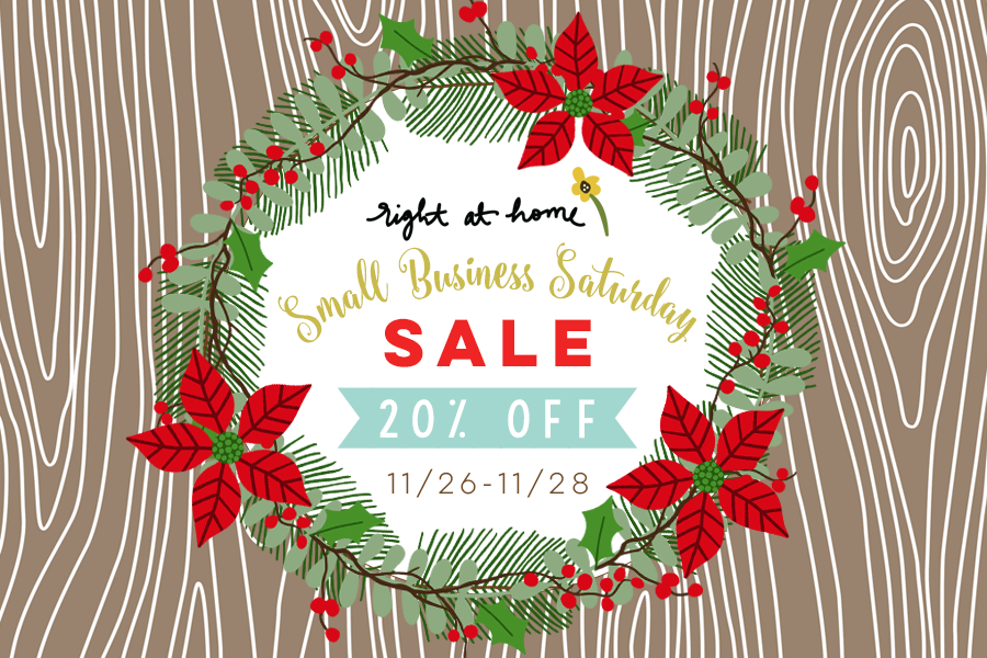 Holiday Weekend Sales + Promotions // rightathomeshop.com