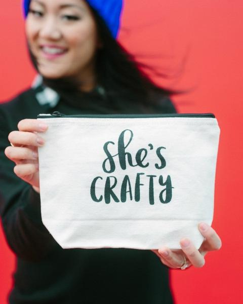 She's Crafty Cosmetic Bag