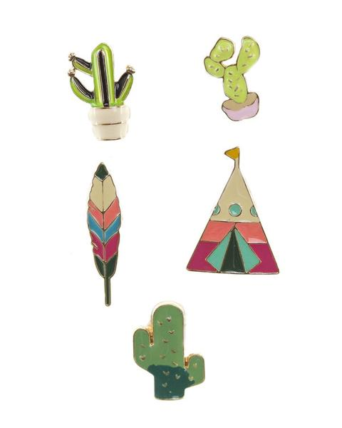 Sahara Flair Enamel Pins (set of 5)
